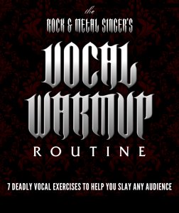 Rock and Metal Singers Vocal Warm Up Routine